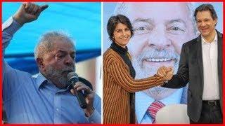 Últimas notícia de hoje FRENTE BRASIL POPULAR DECLARA APOIO À CHAPA LULA, HADDAD E MANUELA