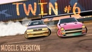 TOP Best Twin Drift 6 Tandem Nissan S30 VS Laurel Парный дрифт CarX Drift Racing MOBILE