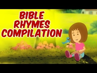 Bible Rhymes Compilation For Kids | Jesus Loves Me & Many More Bible Songs For Kids