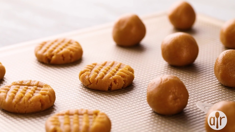 How to Make Three Ingredient Peanut Butter Cookies   Cookie Recipes   Allrecipes.com