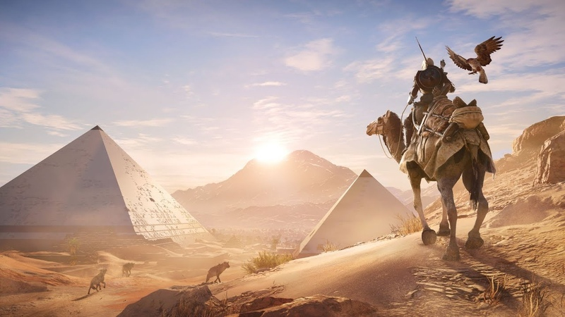 Assassins Creed Origins-Проклятие Фараонов Место отдыха.163