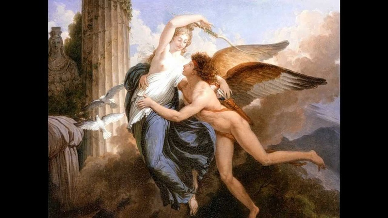 The story of Cupid and Psyche