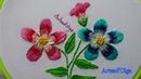 Hand Embroidery: Long and Short Stitch Flowers   Bordados a mano: Flores en Puntada Larga y Corta