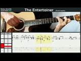 The Entertainer - (Scott Joplin) - Chet Atkins - Guitar Tabs &amp Score