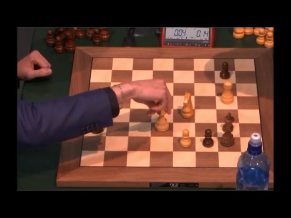 GM Bortnik Belarus GM Carlsen Norway Akela missed