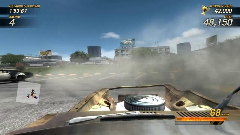 FlatOut Ultimate Carnage - Дерби на фраги (Bonecracker - Parking Lot Derby)