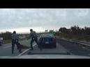 Police Dashcam Captures Intense Gunfight On Highway