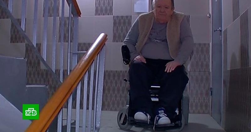 В Нижнем Новгороде инвалид обратился в суд из-за сломанного соседями пандуса