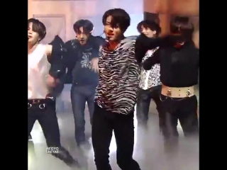 compilation of jungkooks abs during the fake love performances we got so far