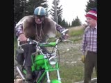 easy rider sawing wood