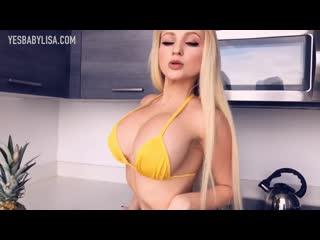 YesBabyLisa - HOT BIKINI GIRL WITH BIG BOOBS HAUL - SEXY SWIMWEAR MODEL MUSIC [G