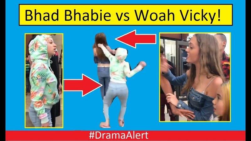 Bhad Bhabie vs Woahh Vicky! (FOOTAGE) DramaAlert Logan Paul vs KSI! Billy Mitchell Scandal!