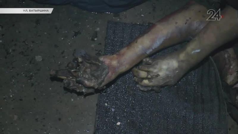 В пожаре в казанской многоэтажке сгорел мужчина