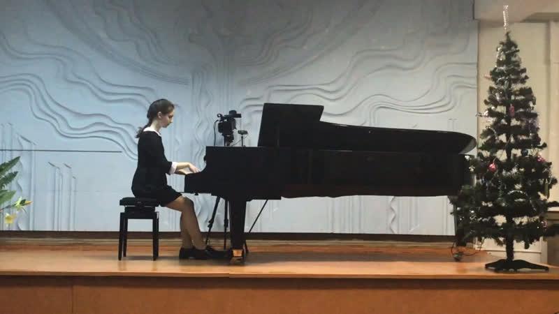 Анастасия Куликова - Ноктюрн. Ф. Шопен