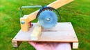 How To Make a Saw   Table Saw or Bench Saw Machine at Home DIY