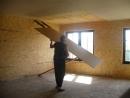 Как одному прикрутить 3х метровый гипсокартон на потолок