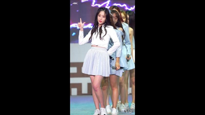181007 4K 러블리즈(Lovelyz) 유지애 Ah-Choo 안성 바우덕이축제 직캠(Fancam) by 니키식스