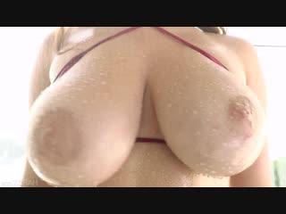 Парень жёстко трахнул горячую сочную подругу во все дырки, busty girl friend sex fuck porn tits ass anal cum oil (hot&horny)