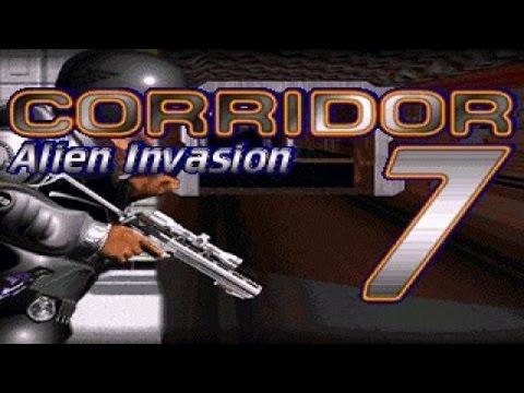 Corridor 7: Alien Invasion gameplay (PC Game, 1994)