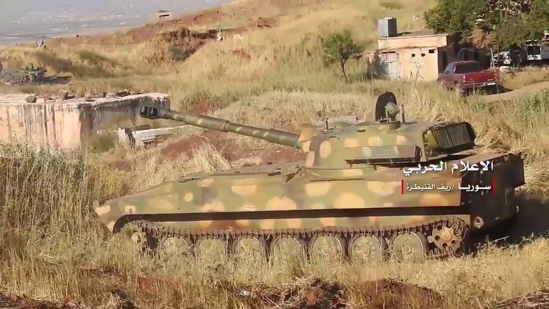 The war in Syria SAA is fighting in the province of Quneitra