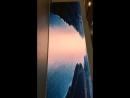 Аэропорт «Платов», 23.03.2018 г. Инсталляция на 3-м этаже с панорамным экраном о великом Тихом Дрне