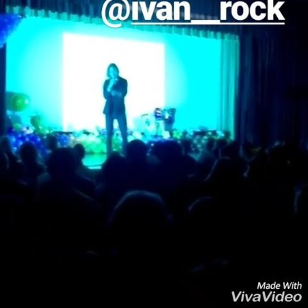 Ivan__rock на открытии 12 смены творческой мастерской severnaya_korona .