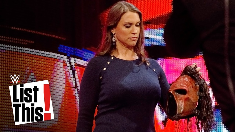 [My1] 5 times Kane was unmasked: WWE List This!
