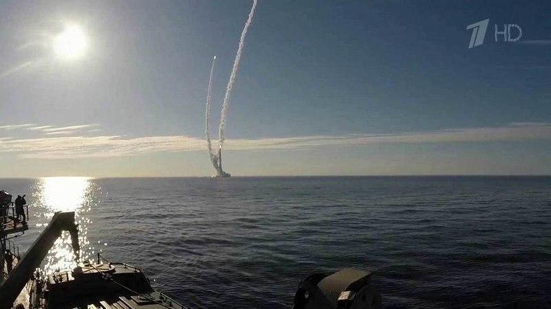 Первый вистории залп баллистическими ракетами «Булава» из-под воды Белого моря пополигону наКамчатке. Новости. Первый канал