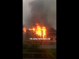 Пожар в п.Крылатское.