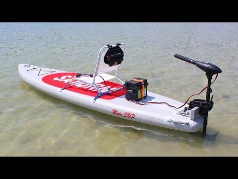 $399- SATURN MotoSUP Motorized Inflatable Paddle Board