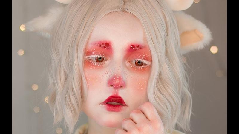 Hitsuji • makeup tutorial   NYX Face Awards Türkiye Entry 2018 (english cc subs)