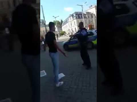 Video aufgetaucht Polizei Einsatz in Plauen eskaliert