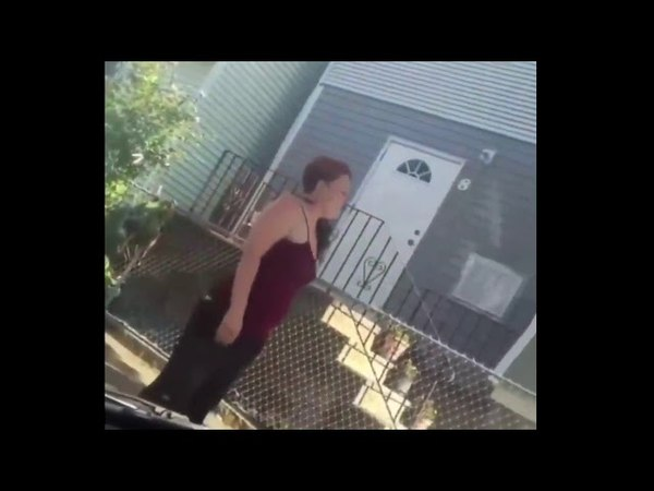 Coward Smacks A Woman Really Hard During An Argument