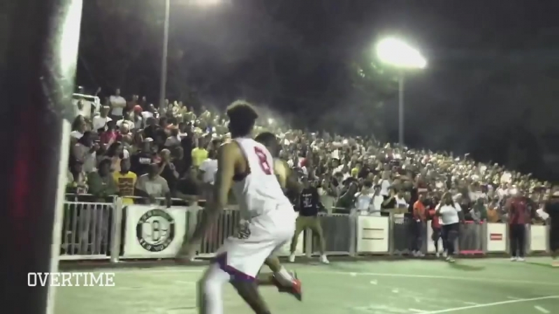Terry Rozier Goes SCARY TERRY At Dyckman Lance Stephenson Pops Out In EPIC Streetball Game 🔥