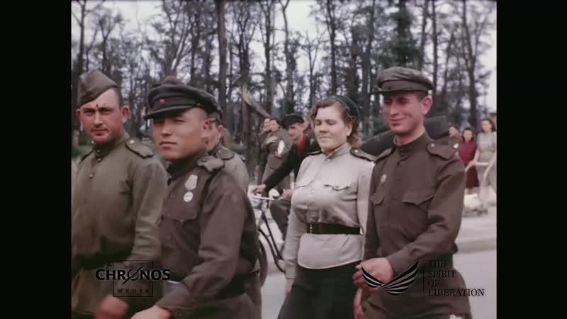 Восстановление послевоенного Берлина оцифрованное цветное Full HD
