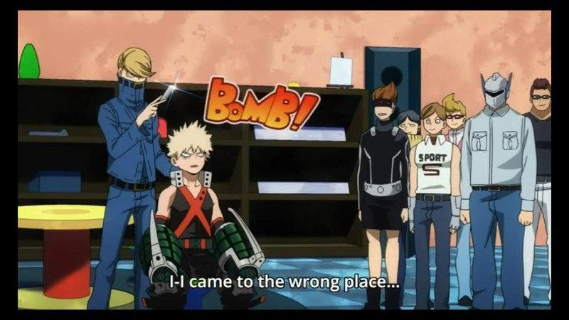 Boku no Hero Academia Turning Bakugou to Elegant Hero