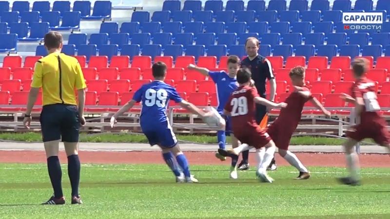 Большой футбол в Сарапуле