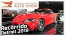 Recorrido Autoshow de Detroit NAIAS 2019 con El Admin.