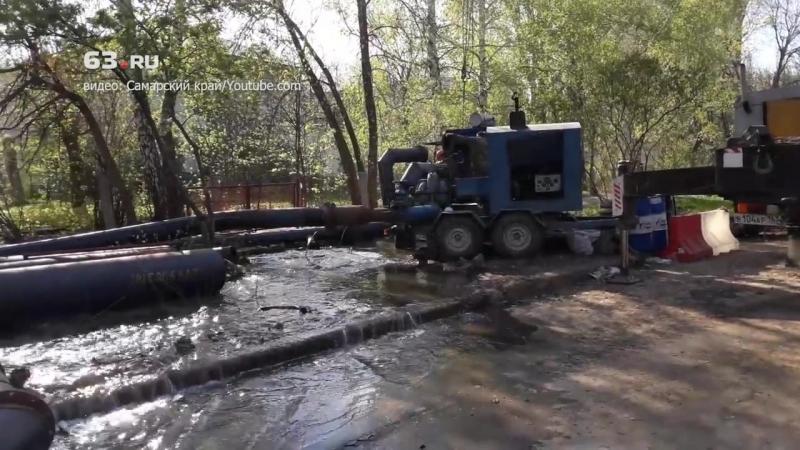 Зловонная река на Мехзаводе