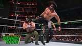 Seth Rollins keeps Elias down with a relentless assault WWE Money in the Bank 2018 (WWE Network E..