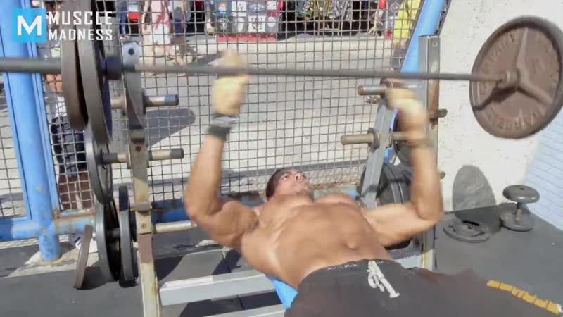 Fat Man VS Bodybuilders (Epic Prank) _ Muscle Madness