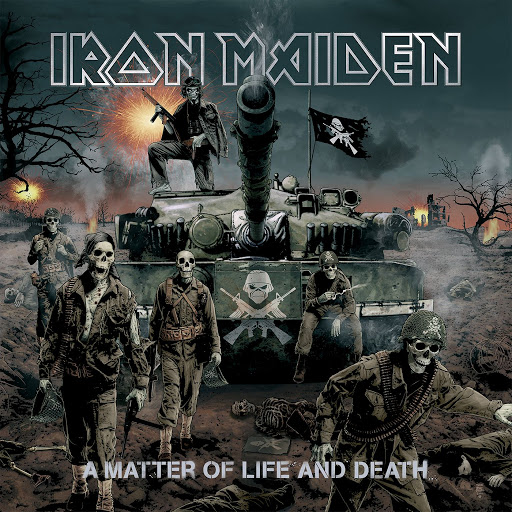 Iron Maiden альбом A Matter Of Life And Death (2015 Remaster)