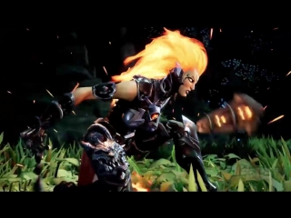 Darksiders 3- Enter the Flame Hollow