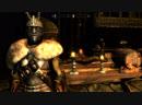 Какой то чувак шпилит в Skyrim