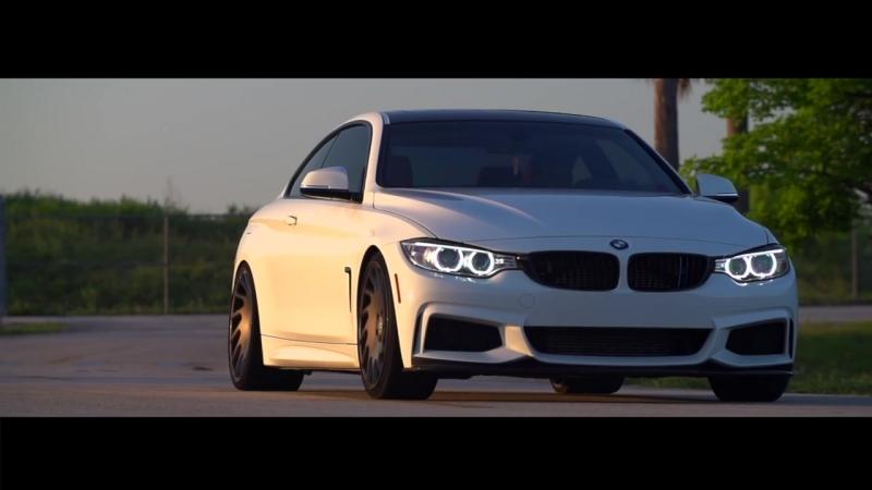 BMW 435i M-Sport _ Bagged Bimmer _ Vossen 20 VLE-1