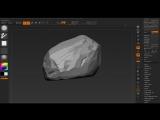 Zbrush Sculpting #7 - Rock Sculpting - Part 2