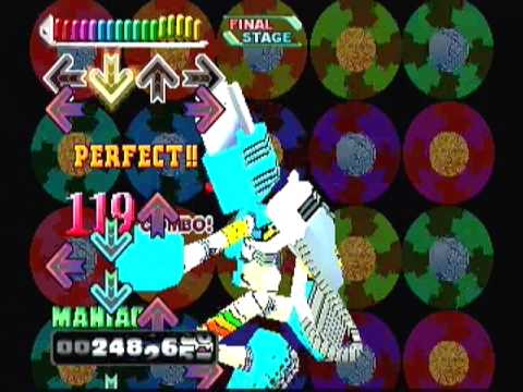 BUMBLE BEE / Single / Maniac / Dance Dance Revolution 4th MIX (Playstation)