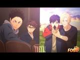 FOS Iwaizumi x Oikawa &amp Ash x Eiji Armor - Haikyuu!! &amp Banana Fish (Secret Valentine for VIY-CHAN)