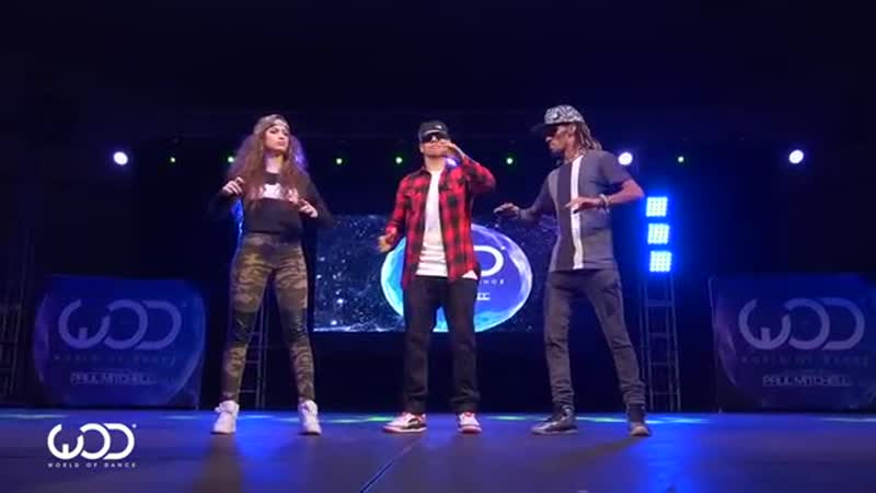 Nonstop, Dytto, Poppin John FRONTROW World of Dance Los Angeles 2015