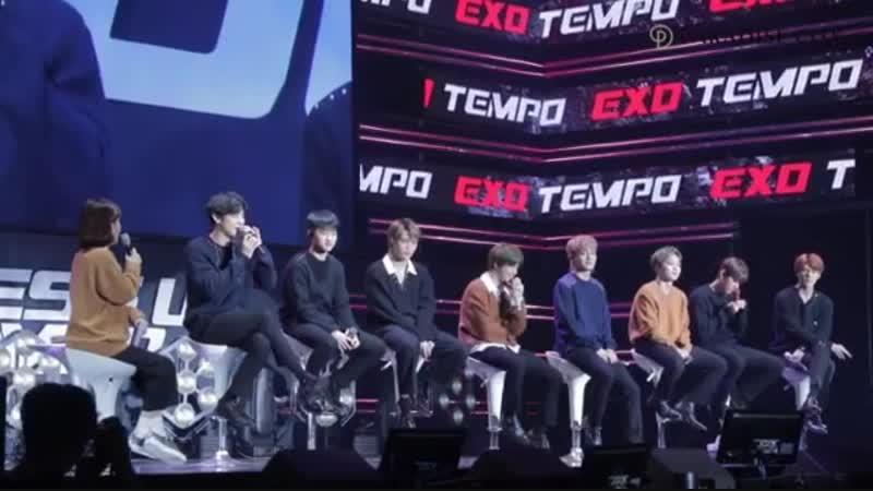 181121 pcitykorea (Paradise City) EXO Comeback Showcase TEMPO, November 02 | EXO SHOWCASE X PARADISE CITY